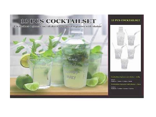cocktail set met shaker