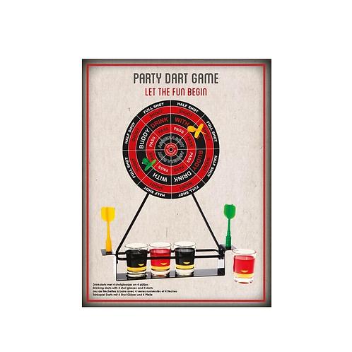 drankspelletje dart game in doos 28.5x22x6cm