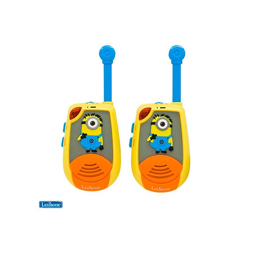 Lexibook walkie talkie Minions 2 km.