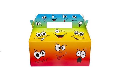 menubox lachend gezichtje 22.5x12x9.5cm