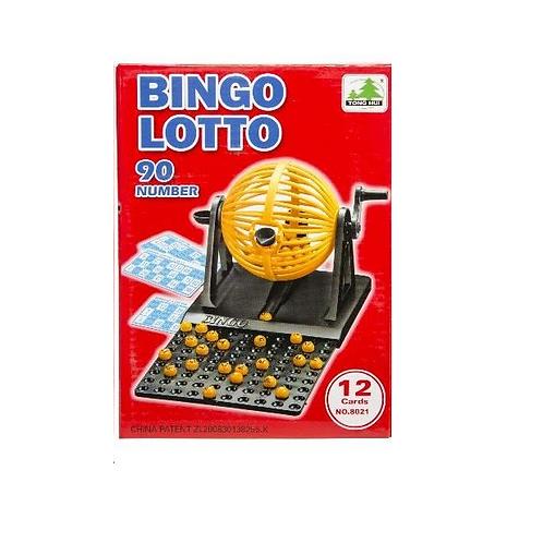 bingo lotto spel in doos 20.5x15x9cm