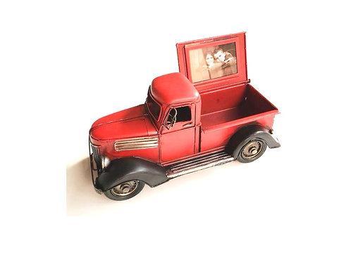 metaal pick up truck 26x12x13cm
