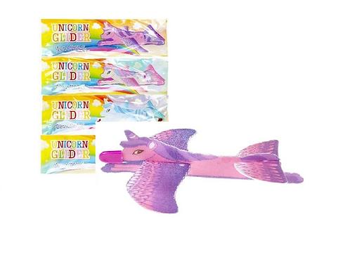 unicorn glider 22x7cm