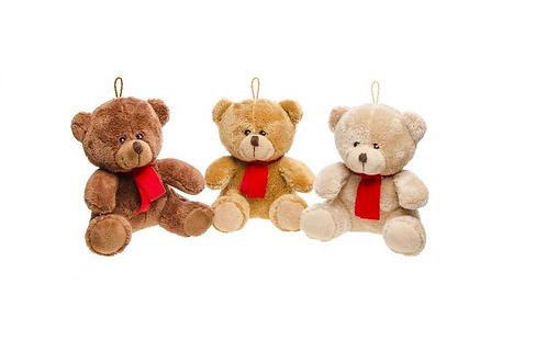 pluche teddybeer 16cm