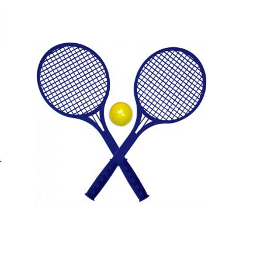 soft tennis play set 54cm