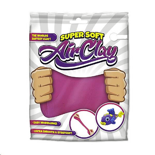 super soft air clay in zakje