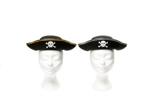 hoed piraat 16cm