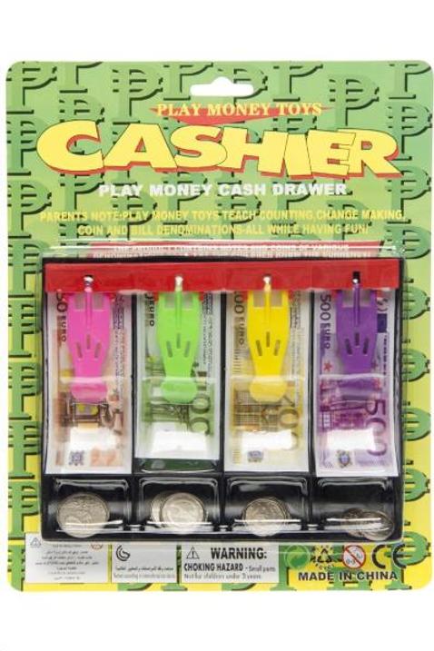 speelgeld met kassa-lade