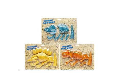 zandvormpje van dinoskelet
