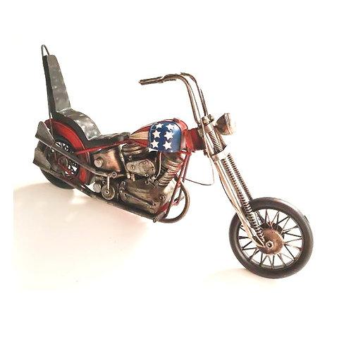 metaal chopper 41x11x20cm