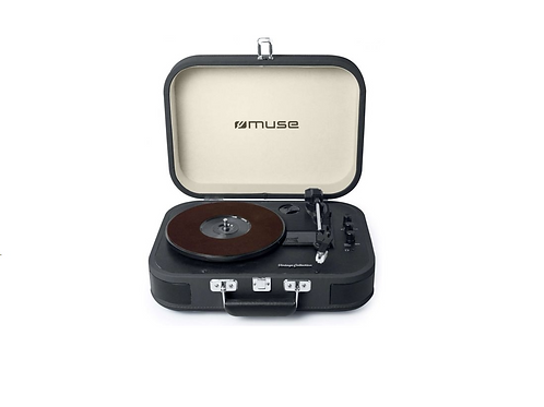 vintage portable turntable Muse M201
