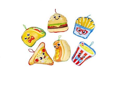 pluche fast food ca.14cm