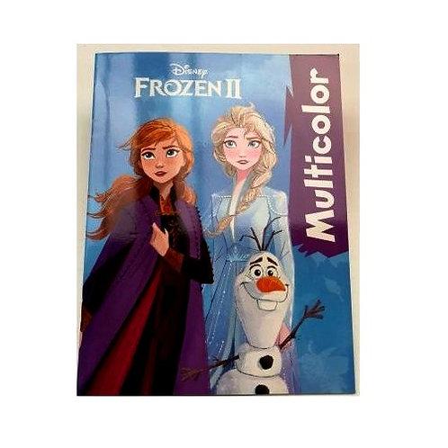 """Frozen """"2"""" kleurboek multicolor"""