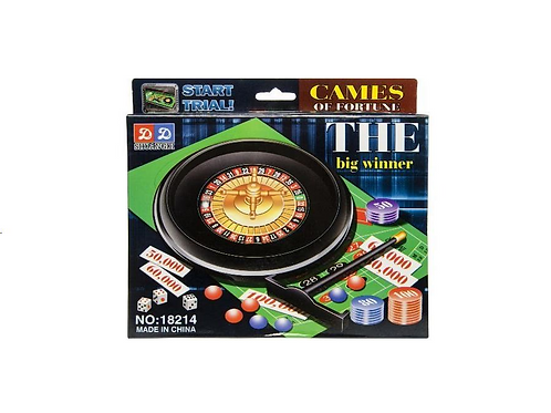 roulette in doos 21.5X16X3CM