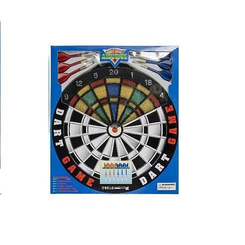 veilig dartspel in doos 41x36x2.5cm