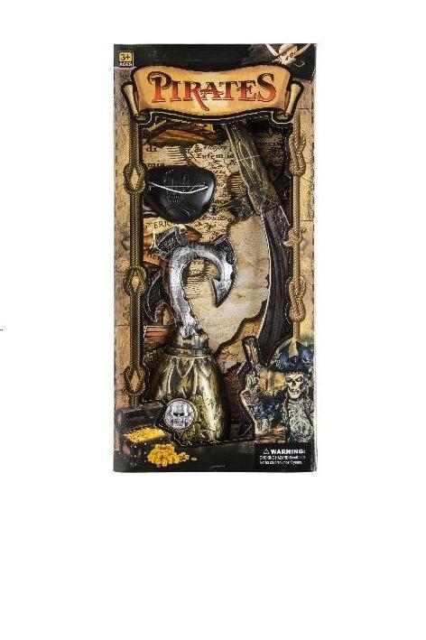 piraatset in doos 40.5x19.5x4cm