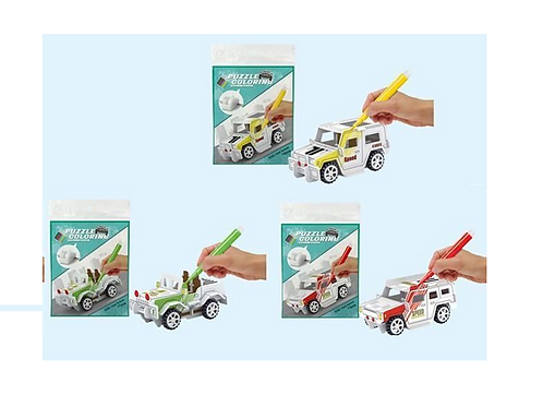 3D puzzel monteer en kleur 10x5x5cm