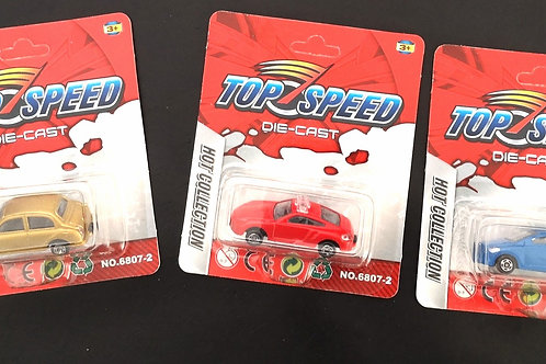 auto top speed die cast ca.5.5cm