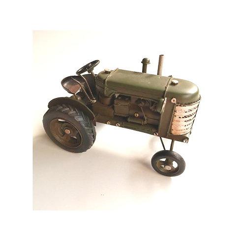 metaal tractor 18cm