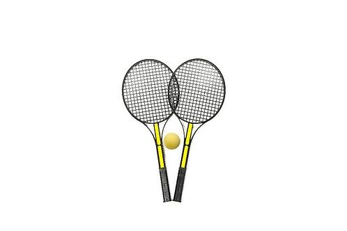 set van 2 tennis rackets met bal