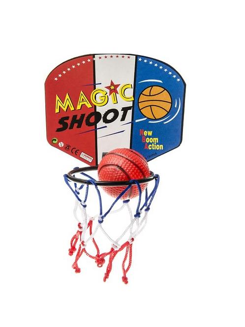 basketbalring met bal 13.5X9CM - BALL 5CM