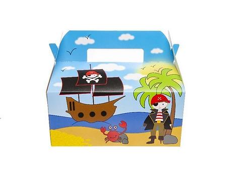 menubox piraat foodsafe! 22.5x0.x9.5cm