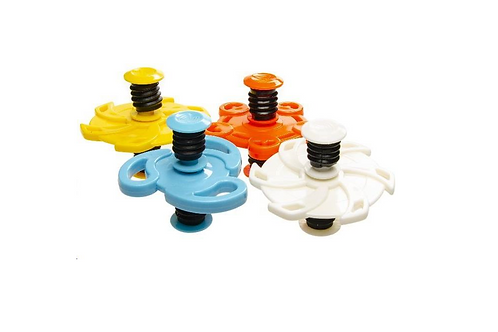 jumping spinner rubber 6x8x7.5cm
