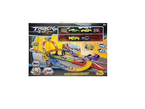 racebaan looping in doos 53.5x39x7cm