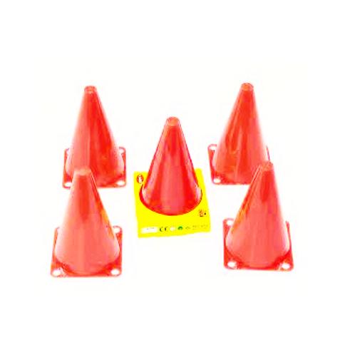 verkeerskegels ca. 15cm hoog set van 4