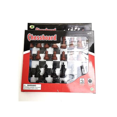 schaakbord in doos 19.5cm x 22.5cm