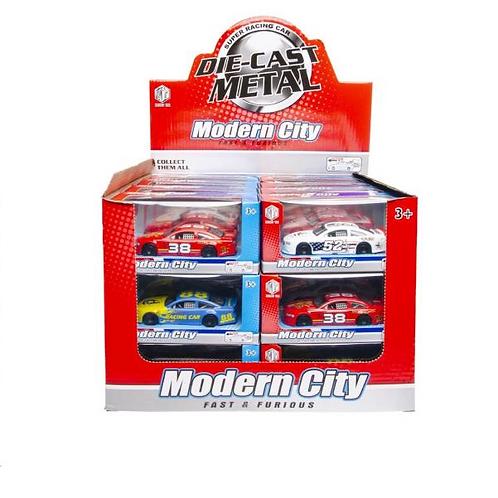 auto metaal USA racer 14.5X6X7CM
