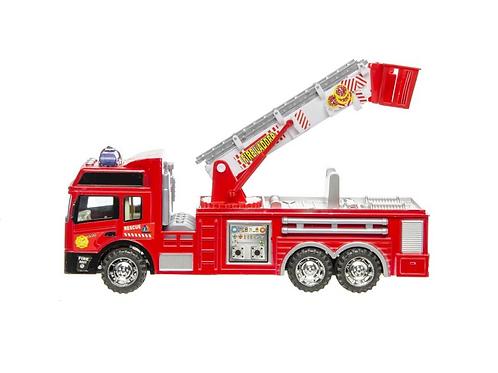 brandweerwagen met ladder 31cm