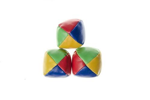 set van 3 jongleerballen