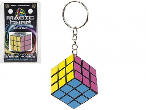 Magische kubus aan sleutelhanger