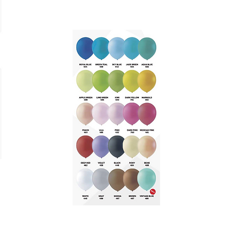 100 ballonnen deco 30cm per kleur