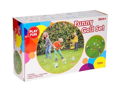 funny golf set