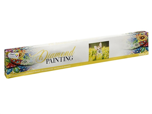 diamond painting 40x50cm dog