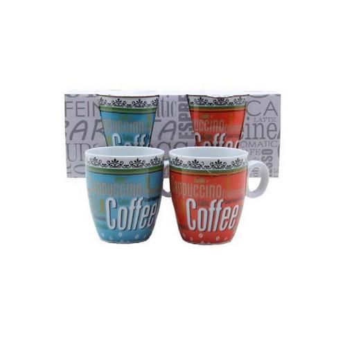 set van 2 koffiebekers