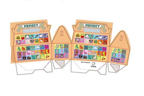 menubox memory spel foodsafe!