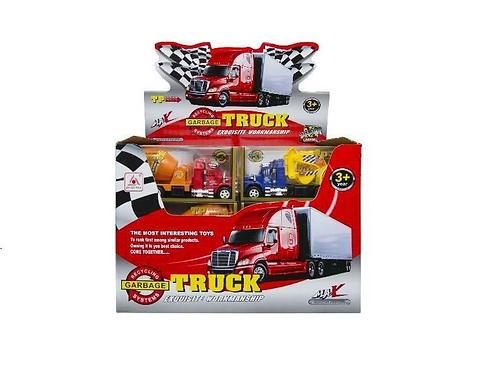 constructie truck in doos 16.5x5x5cm