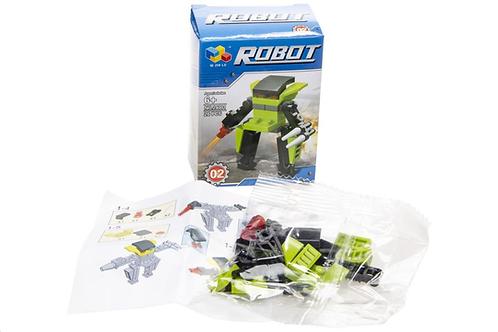 bouwblokjes robot