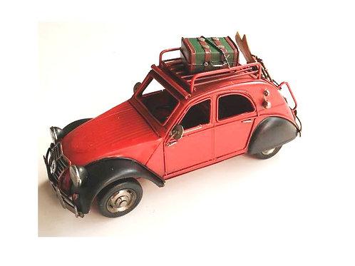 metaal auto koffer ski 25cm