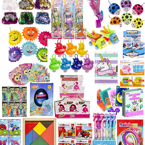 Toy mix 75, mix van 100 speelgoedjes