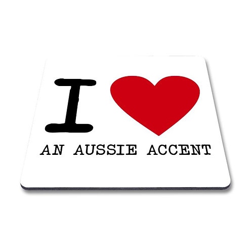I Love an Aussie Magnet