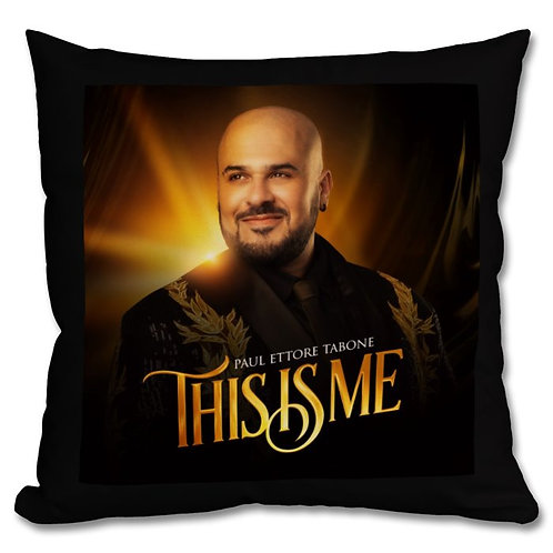 This Is Me Cushion - Black