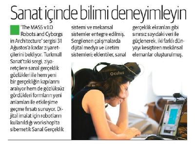 YENİ ŞAFAK PAZAR 09.08.2015