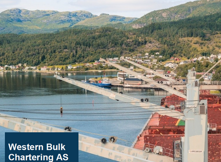 Western Bulk publishes Second Half and Preliminary 2019 results