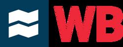 WB logo initials