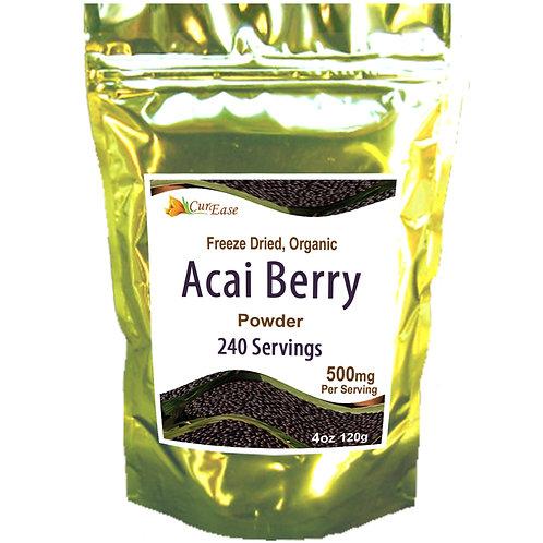 Organic ACAI Berry Powder - Freeze Dried