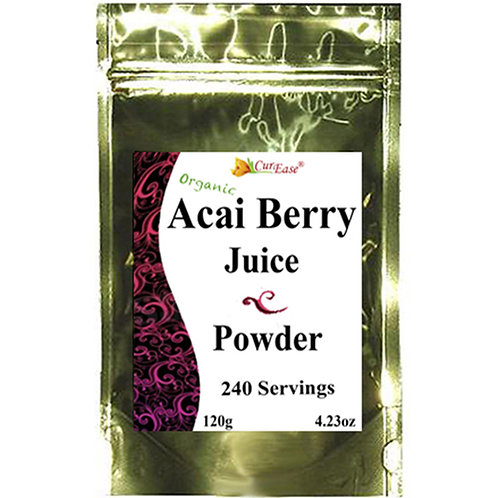 Organic Acai Berry Juice Powder